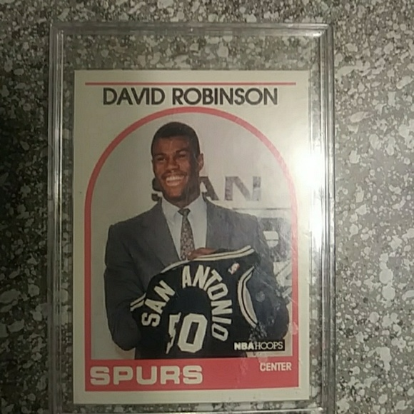 1989 David Robinson Rookie Card And Some Of The J